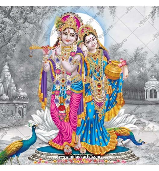 Radhe Krishna digital...