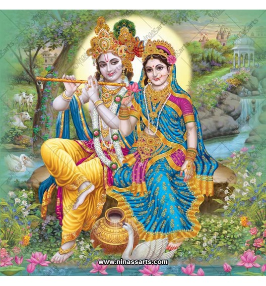 Radha Krishna digital...