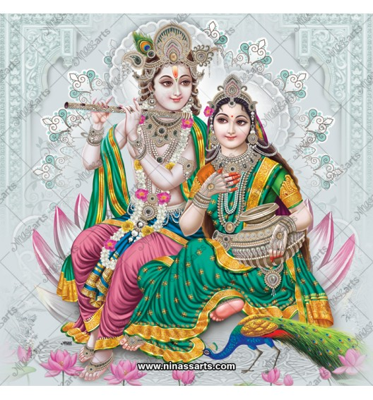 Radha Krishna painting 6063