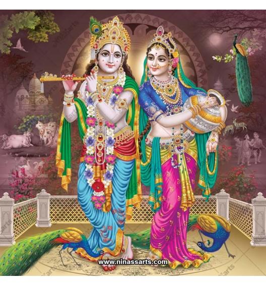 Radha Krishna painting 6065