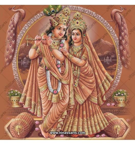 Radha Krishna painting 6067