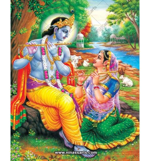 Radha Krishna painting 6069