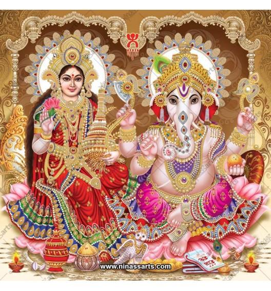 3001 Laxmi Ganesh Bengali