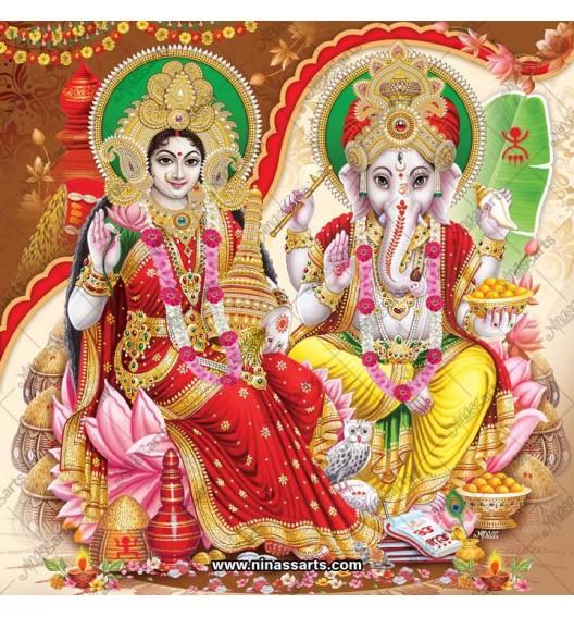 3004 Laxmi Ganesh Bengali