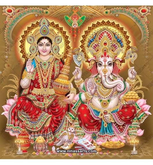3005 Laxmi Ganesh Bengali