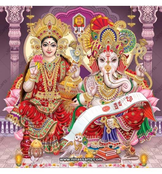 3006 Laxmi Ganesh Bengali