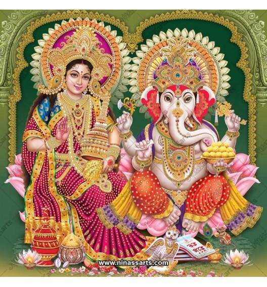 3009 Laxmi Ganesh Bengali