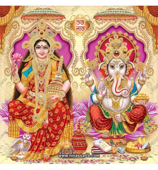3015 Laxmi Ganesh Bengali