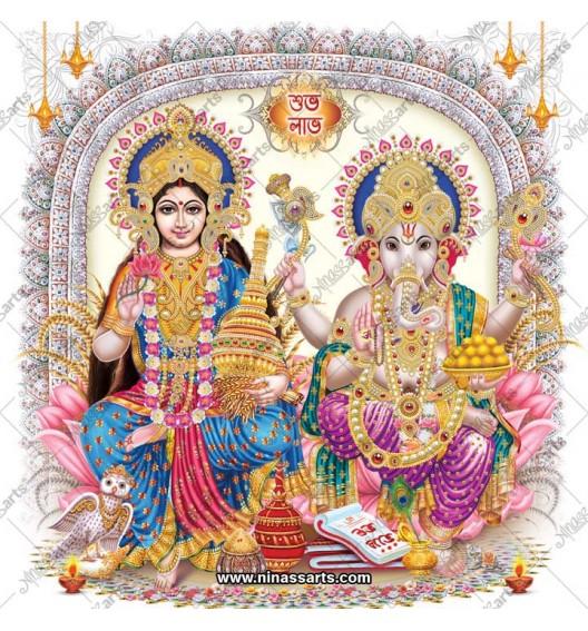 3016 Laxmi Ganesh Bengali