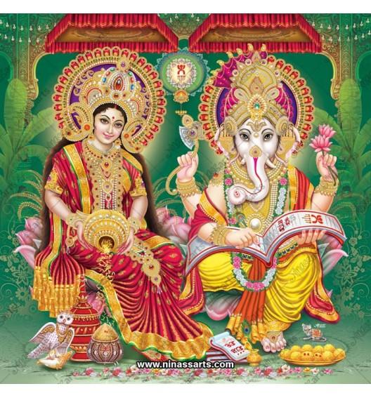3017 Laxmi Ganesh Bengali