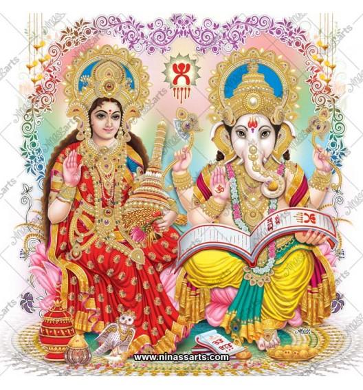 3020 Laxmi Ganesh Bengali