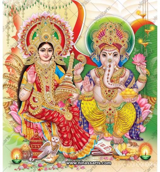 3022 Laxmi Ganesh Bengali
