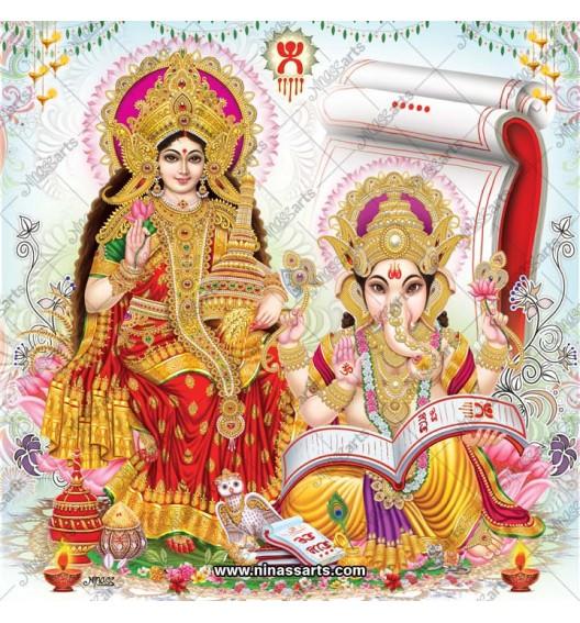 3024 Laxmi Ganesh Bengali