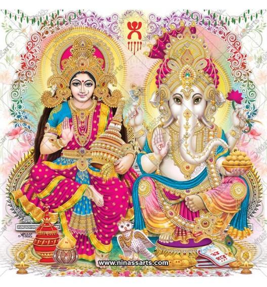 3026 Laxmi Ganesh Bengali