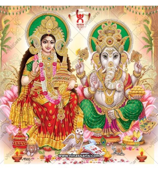 3030 Laxmi Ganesh Bengali