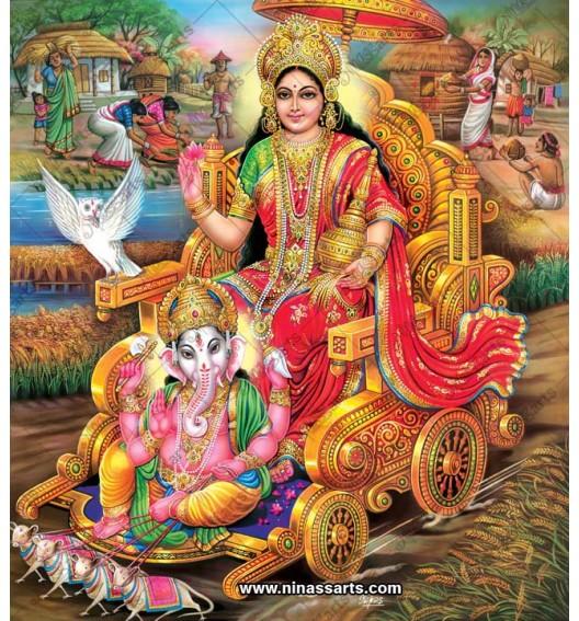 3032 Laxmi Ganesh Bengali