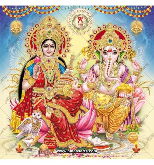 3033 Laxmi Ganesh Bengali