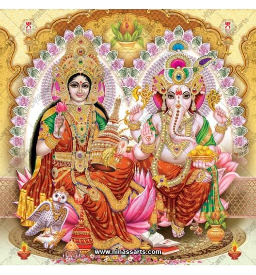 3034 Laxmi Ganesh Bengali