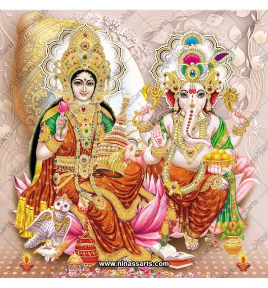3037 Laxmi Ganesh Bengali
