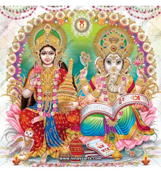 3038 Laxmi Ganesh Bengali