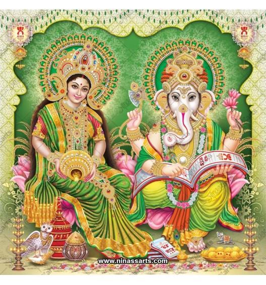 3040 Laxmi Ganesh Bengali