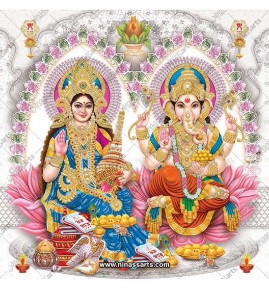 3042 Laxmi Ganesh Bengali