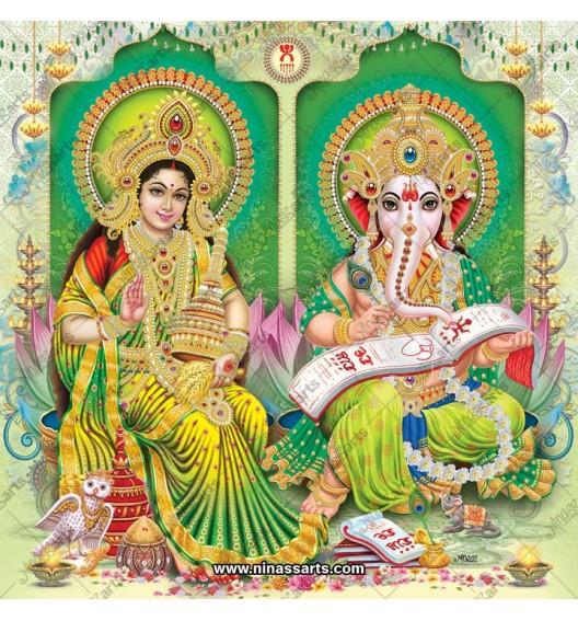 3043 Laxmi Ganesh Bengali