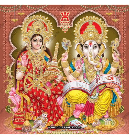 3044 Laxmi Ganesh Bengali