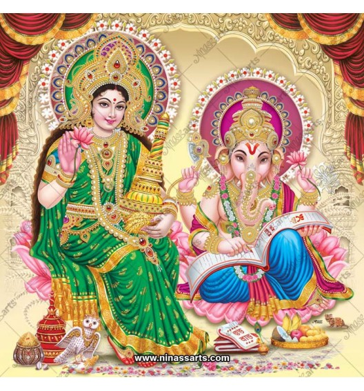 3047 Laxmi Ganesh Bengali