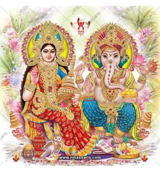 3048 Laxmi Ganesh Bengali