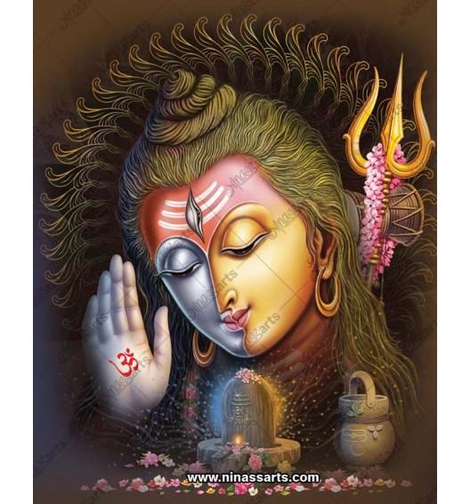 Lord Shiva digital art |...