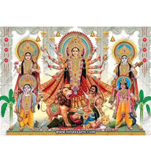 7009 Durga Family