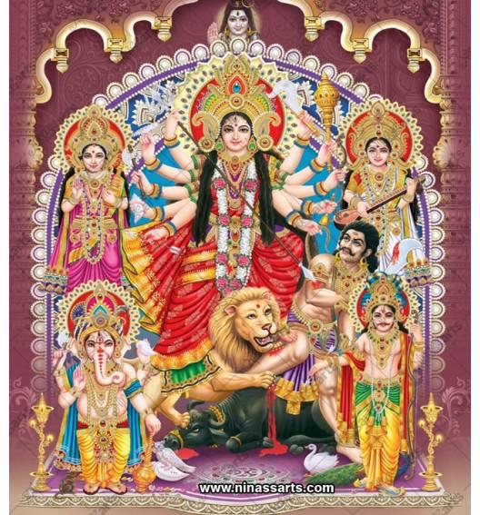 7013 Durga Family