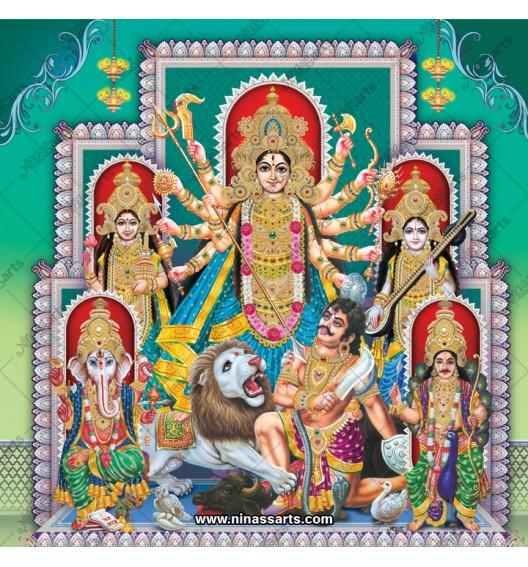 7016 Durga Family