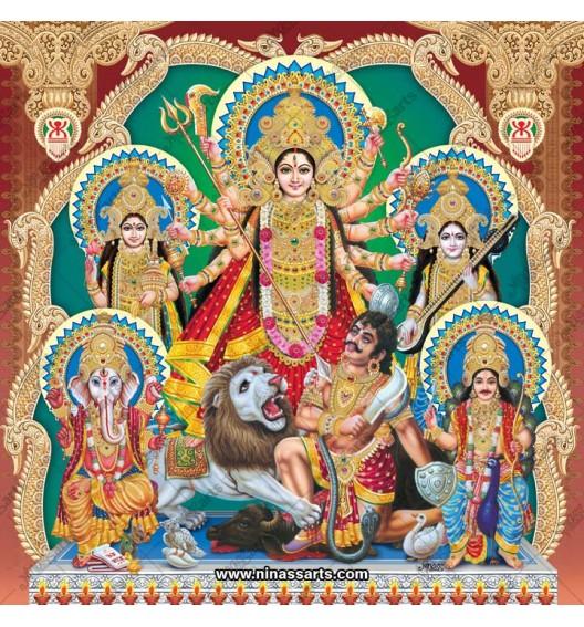 7019 Durga Family