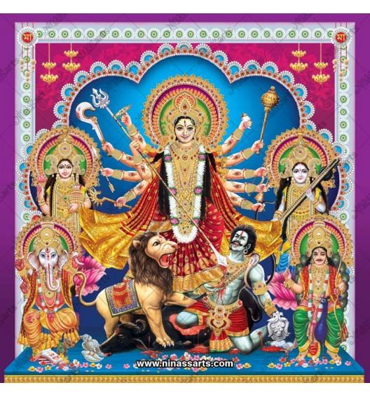 7022 Durga Family