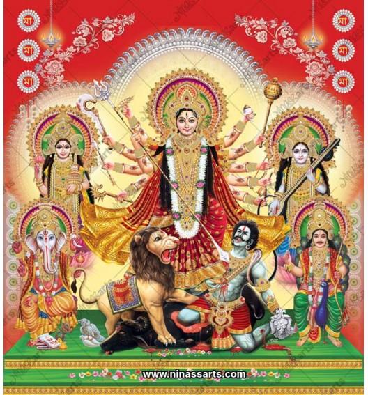 7023 Durga Family