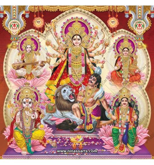 7026 Durga Family