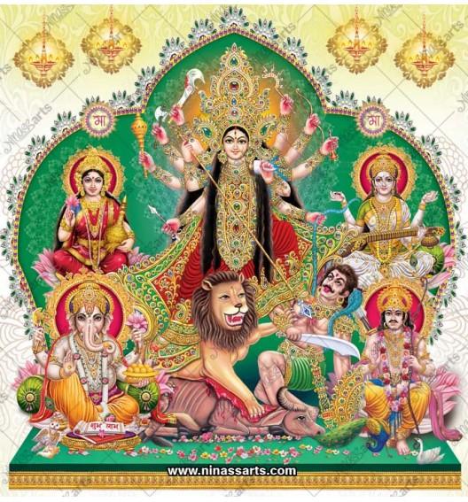 7027 Durga Family