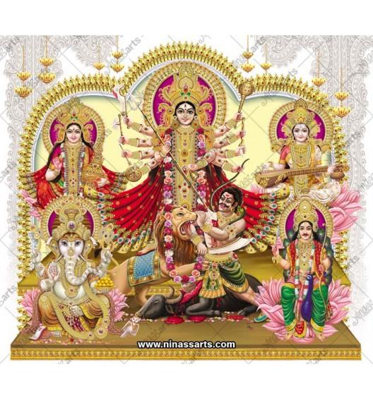 7036 Durga Family