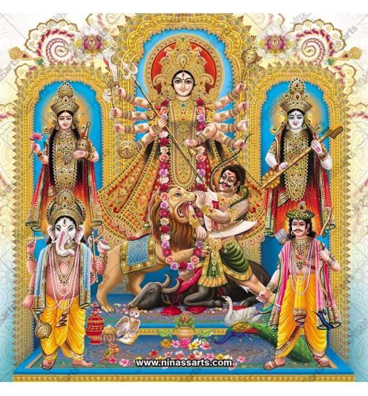 7040 Durga Family