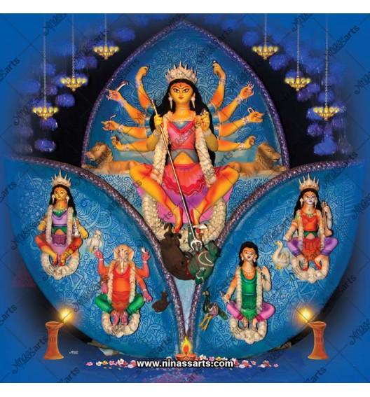 7043 Durga Family