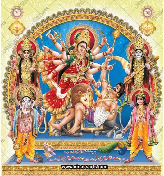 7044 Durga Family