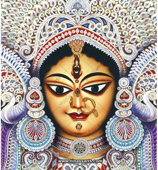 7046 Durga Face