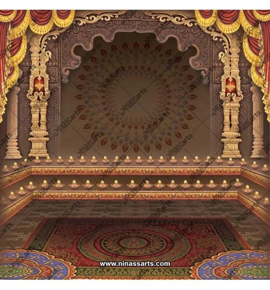 Gods Decorative brown...