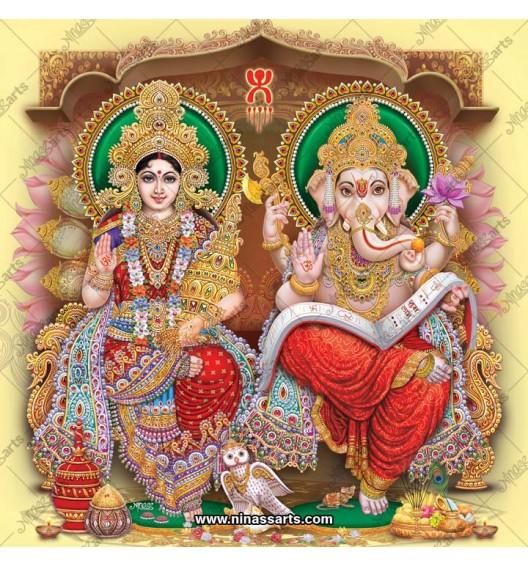 3052 Laxmi Ganesh Bengali