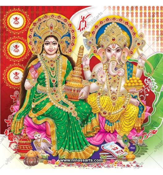3054 Laxmi Ganesh Bengali