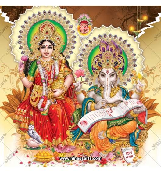 3055 Laxmi Ganesh Bengali