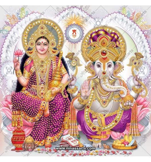3057 Laxmi Ganesh Bengali