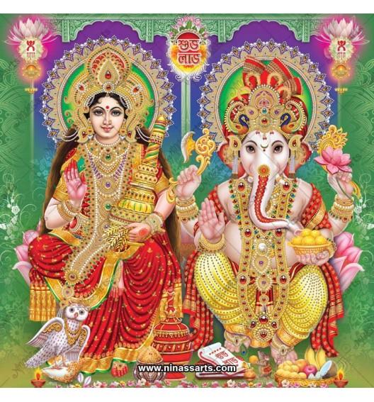 3058 Laxmi Ganesh Bengali
